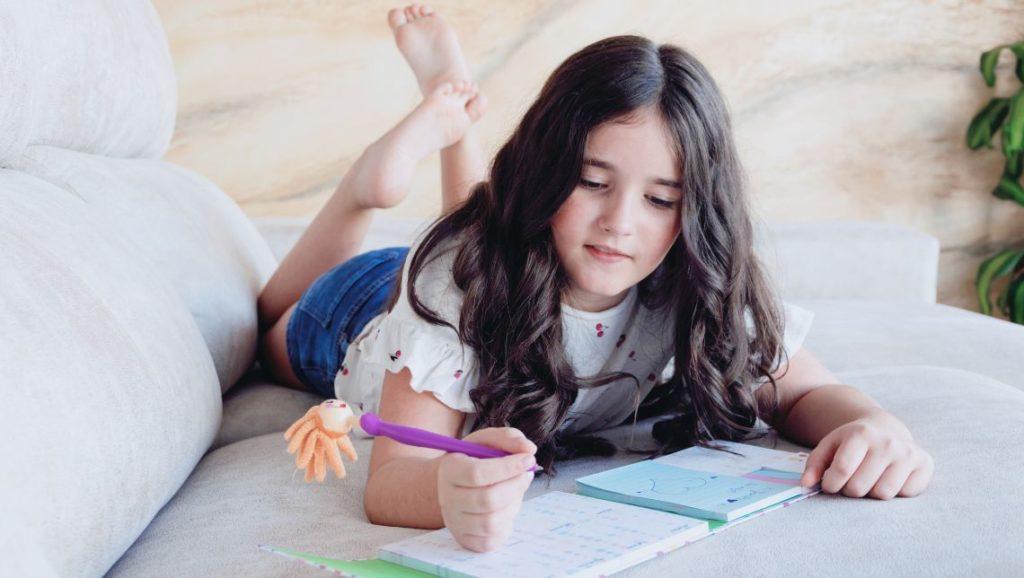 Tagebuch schreiben ist gesund für Kinder